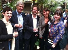 Myself, Vicky White's Dad, Dan, the astoundingly talented Vicky White and Dee at the Kate Greenaway awards.