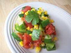 Mexicaanse komkommersalade