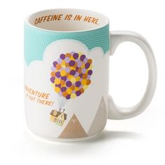 UP Ceramic Mug - I think this would be a great gift for the adventurous person; like my sis :)
