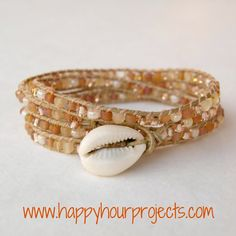 Happy Hour Projects: Jewelry  Love this site LOTS of DIY jewelry :)