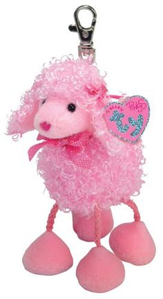 Ty Pinky Poo - Poodle Keychain ** Check this awesome product by going to the link at the image.