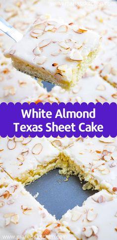 Chorizo cake fast and delicious - Clean Eating Snacks Almond Sheet Cake Recipe, Sheet Cake Recipes, Easy Cake Recipes, Sweet Recipes, White Almond Cakes, White Almonds, Cake Tray, Texas, Savoury Cake