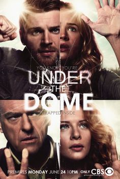 Under the Dome... not bad but started to loose it near the end they could have rounded it up in one series hummm