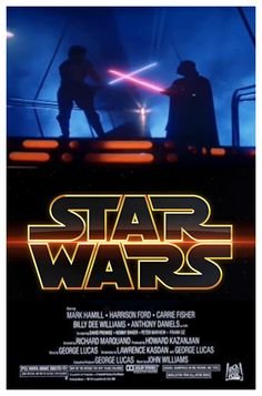 Star Wars animated movie poster