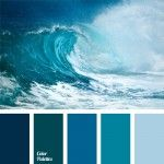 blue color, blue monochrome color palette, blue-green, celadon, color matching, color of sea water, color palettes for decoration, color solution