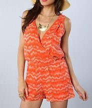 Alternative Apparel The Lotus Printed Romper in Poppy Ric Rac Model is wearing a size Small Cotton patterned romper with criss-cross front and back detail; By Alternative Apparel Alternative Outfits, Alternative Apparel, Cute Rompers, Frocks, Trendy Fashion, Poppies, Lotus, Comfy, Clothes For Women