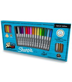 Sanford Sharpie Fine Point Special Edition Permanent Markers 23 Pcs