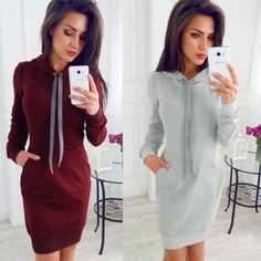 8ffa835898f Autumn Sexy Lace-up Bodycon Dress Woman 2018 Long Sleeve Casual Knitting  Dressrricdress