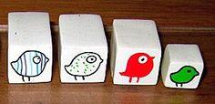 cure little bird canes by Mouna...