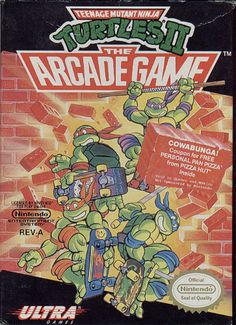 The mean, green, pizza-eating machines are back to kick some Shredder butt! In this arcade conversion you and a friend team up to brawl through multiple stages filled to the brim with foot soldiers and M.O.U.S.E.R.S. Cowabunga!