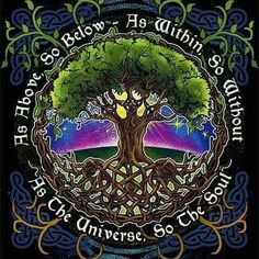 As Above So Below As Within So Without As the Universe So the Soul