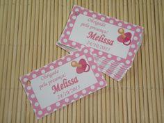 Tag Cartão Lembrancinha Chupeta