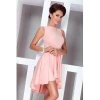 Elegantné ružové  šaty