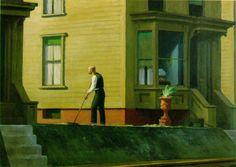 """""""Penn Coal Town""""  Edward Hopper"""