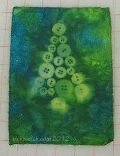 button tree - sun dyed