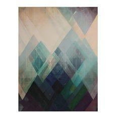 canvas painted kaleidoscope 90x120cm