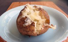 Short-cut Potatoes: bake potatoes in half the time! Sometimes, a boiled potato won't do. On a whim, and then over and over and over again, I tossed the potatoes in the pressure cooker to pre-cook them a bit while my oven was pre-heating. WOW!