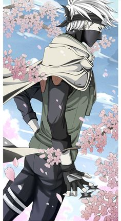 Reminds me of bleach for some reason. <3 Kakashi