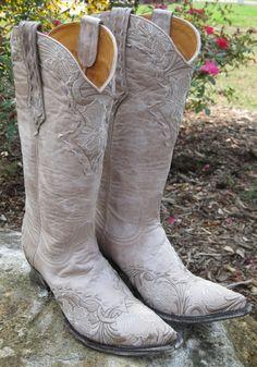 Rivertrail Mercantile - Old Gringo Erin Vesuvio Bone Cowgirl Boot, $460.00 (http://www.rivertrailmercantile.com/old-gringo-erin-vesuvio-bone-cowgirl-boot/)