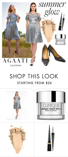 """""""AGAATI"""" by gaby-mil ❤ liked on Polyvore featuring Clinique, Christian Louboutin, california, top and agaati"""