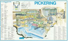 Pickering Nuclear Plant Poster