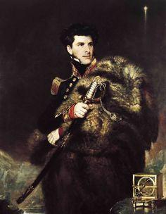 Sir James Clark Ross, 1800-1862, British Naval Officer and explorer; Artist: John R. Wildman (1785-1839), National Maritime Museum, Greenwich