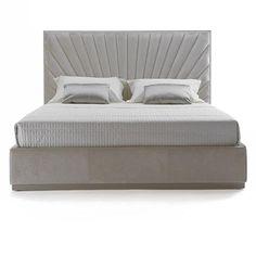 Latest Bedroom Design, Modern Bedroom Design, Bed Back Design, Bed Design, Bed Furniture, Furniture Design, Velvet Bed, Upholstered Beds, Headboards For Beds