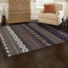 Simple Luxury Twilight Machine Woven Multi-Colored Area Rug Rug Size: