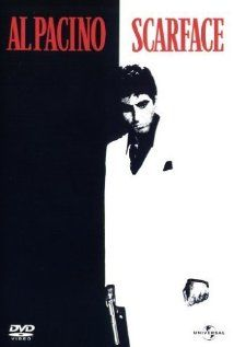 Directed by Brian De Palma. With Al Pacino, Michelle Pfeiffer, Steven Bauer, Mary Elizabeth Mastrantonio. In 1980 Miami, a determined Cuban immigrant takes over a drug cartel while succumbing to greed. Film Scarface, Scarface Poster, Michelle Pfeiffer, Al Pacino, Love Movie, Movie Tv, Posters, Heroes, Cinema