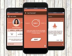 """Check out new work on my @Behance portfolio: """"HealthyMind 