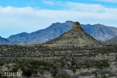 Big Bend National Park, Texas. Photography by Tim Speer