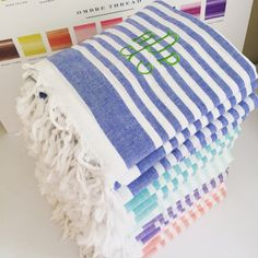 Our Turkish t's towels make perfect bridesmaids gifts!
