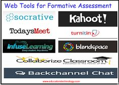 Educational Technology and Mobile Learning: 8 Excellent Tools for Formative Assessment to Try With Your Students