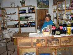A small shop in the rural community of Turco