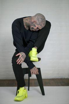 Inspired by - People. Zombie Boy Rick Genest. #ZombieBoy #RickGenest