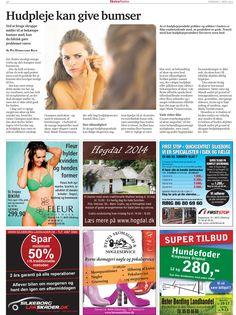 26. Marts 2014 - Ekstra Posten bringer Danish Skin Cares guide til at blive bumsefri  Få guide her:  http://www.danishskincare.dk/kundeservice/kuren_mod_bumser/
