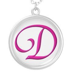 The Initial D Sterling Silver Necklace. Prices start at around $36.00