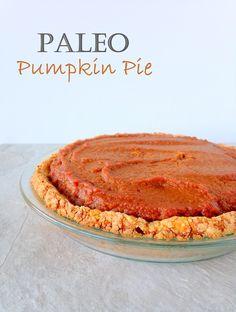 PALEO PUMPKIN PIE | wheatless kitchen.