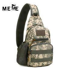 Climbing Bags Just Military Tactical Chest Pack Fly Equipment Nylon Wading Chest Pack Cross Body Sling Single Shoulder Bag A Great Variety Of Goods