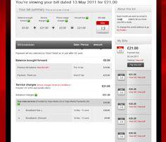 British Gas Bill Bill Design Pinterest Gas Bill