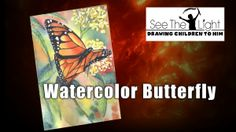 Get a free set of tutorials for painting a watercolor butterfly (from See the Light)