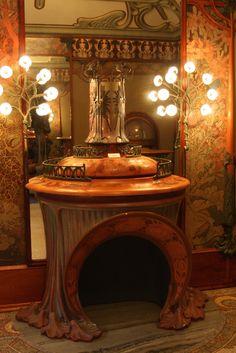 Nouveau - G. Fouquet room by Mucha