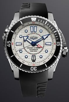 Vulcain Cricket X-Treme Automatic alarm diving watch | World Watch Review