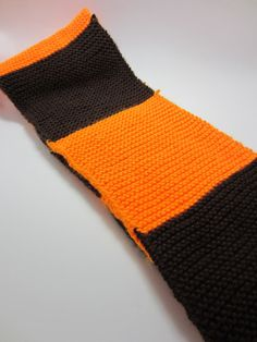 Cleveland Browns Scarf by MadisonScarves on Etsy, $25.00. GREAT CHRISTMAS GIFT!!