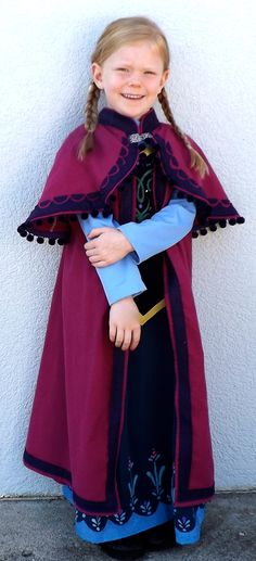Disney Princess Anna Costume pattern...coming soon on Joy2Sew.blogspot.com!