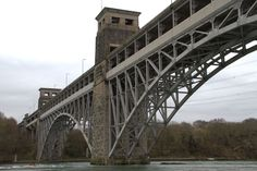 Britannia Bridge from our side !
