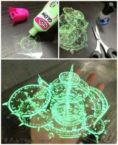 Easy and cheap idea for cosplayers! #Glow #DIY #Cosplay