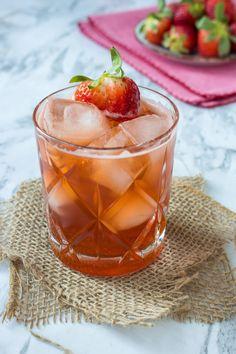 Strawberry, Chai and Cardamom Mule