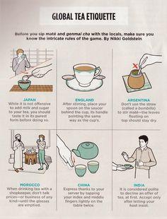 global tea etiquette