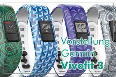 Vorstellung und Test Garmin Vivofit 3 Arm Workout With Bands, Fitness Armband, Fiction